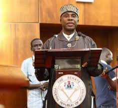 Image result for PDP senators vow to withdraw support for Saraki if Amaechi is confirmed