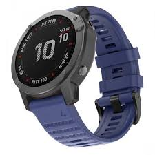 Garmin Fenix 6X 26mm <b>Smart</b> Watch Strap <b>Replacement Silicone</b> ...