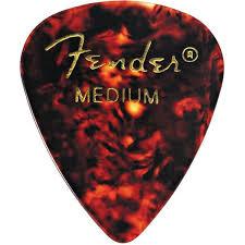 <b>Медиатор Fender Classic Shell</b> Medium