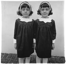 diane arbus notes from the margin of spoiled identity  identical twins roselle nj 1967 c the estate