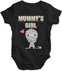 TWISTED ENVY <b>Scary Mummy's</b> Girl Baby Unisex <b>Funny</b> Baby Grow ...