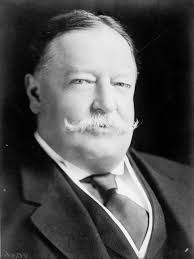 circa 1920: William Howard Taft (1857 - 1930), the 27th President of the United States of America, in office 1909 - 13. He later served as the Chief Justice ... - 3348003