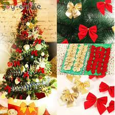 _225044611 <b>Joy</b>-<b>Enlife 12pcs/lot Bow</b> Tie Christmas Tree ...