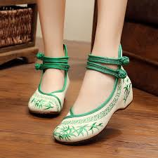 size 41 fashion women ballerinas dancing shoes chinese flower embroidery soft sole casual shoes cloth walking flats smyxhx 0012 plastic fabricator
