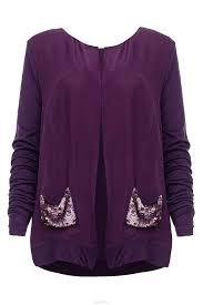 Купить <b>Кардиган NOUGAT LONDON</b>, фиолетовый 42 размер в ...