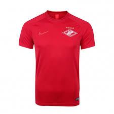 <b>Футболка тренировочная Nike</b> сезон 2019/20 красная красный ...