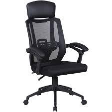 <b>Кресло офисное Brabix</b> Nexus ER-401, с подголовником, черное ...
