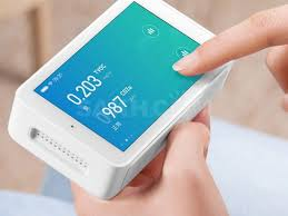 <b>Анализатор воздуха Xiaomi</b> Mijia Air Detector (белый). Бытовая ...