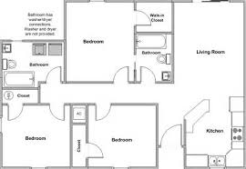 Floor Plan Bedroom House   Sq Ft  House Plans    Good Floor Plan Bedroom House   Bedroom House Floor Plans