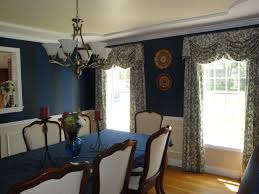 Floral Dining Room Chairs Dining Room Blue Crystal Chandelier With Blue Hexagon Pattern