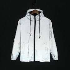 2019 <b>new Funny Print</b> Reflective Jacket Men/<b>Women</b> Brand Hooded ...