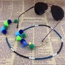 <b>Women Glasses Chain Eyeglasses</b> Necklace Eyewear Cord Band ...