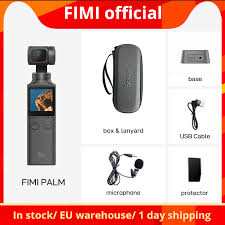 In stock FIMI PALM camera 3 Axis <b>4K</b> HD <b>Handheld Gimbal</b> Camera ...