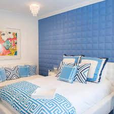 young adult bedroom ideas contemporary bedroom for girl among blue padded wall white bed blue blue white contemporary bedroom interior modern