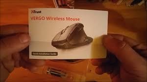 <b>Trust Vergo</b> wireless mouse - YouTube