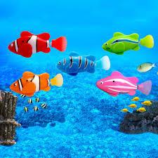 <b>Mini Bath Toy Bionic</b> Fish Electric Swimming Magical Le Bao Fish ...