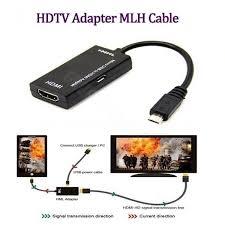 <b>Gocomma Micro USB to</b> HDMI MHL Adapter – Black – Growspend