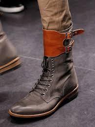 New <b>Handmade Mens Military</b> Style Superb Leather <b>Boots</b>, Long ...