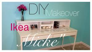 gorgeous white ikea micke desk pls hutch and shelves also drawers for home furniture ideas check beautiful diy ikea