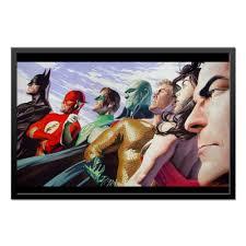 Холст 50x75 <b>Justice League</b>/<b>Лига Справедливости</b> #1662626 от ...