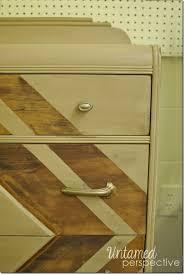 valleyfallsdresser2 conklin chevron table chevron painted furniture