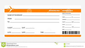 blank airline boarding pass ticket stock photos images orange boarding pass royalty stock photography
