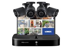 Complete Security <b>Camera</b> System with 4 <b>HD 1080p Wireless</b> ...