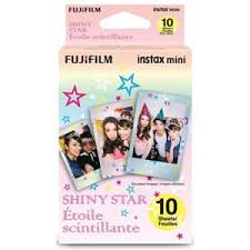 <b>Fujifilm Instax Mini</b> Shiny Star <b>Color Film</b> for <b>Instax Mini</b> Cameras, 10 ...