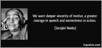 Sarojini Naidu's quotes, famous and not much - QuotationOf . COM