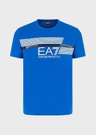 EA7 T-shirts & Polos <b>Футболки Для Мужчин</b> | Emporio Armani