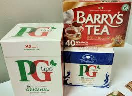 TEABAGS: PG Tips, Barrys Tea, Scottish, Yorkshire Gold, Bewleys ...