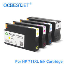 vilaxh 711 empty refillable ink cartridge replacement for hp xl 711xl for designjet t120 t520 printer with arc chip