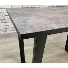 Характеристики | <b>Стол Мир стульев Саен</b> черный /бетон 809 ...