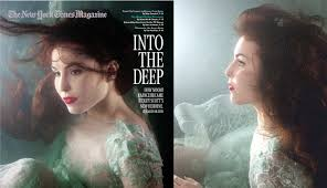 death to women in advertising an ads essay quảng cáo ajc the two pictures of noomi rapace on the newyork times magazine
