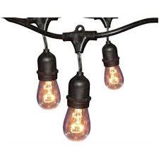 <b>String Lights</b> - Outdoor Lighting - The Home Depot