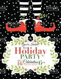 doc holiday party invite templates christmas party elf christmas party invitation template stock vector art 522736021 holiday party invite templates christmas party invitation templates