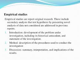 Apa style literature review example