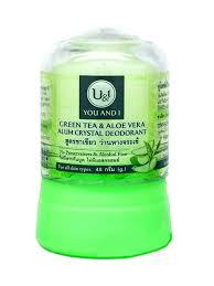 <b>Дезодорант кристаллический</b> с зеленым чаем и алоэ вера 45 г U ...
