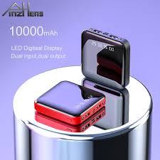 <b>Mini 10000mAh Power Bank</b> For Xiaomi Mi Power Bank External ...