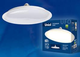 Светодиодная <b>лампа</b>-светильник <b>LED</b>-<b>U270</b>-<b>60W</b>/<b>4000K</b>/<b>E27</b>/<b>FR</b> ...