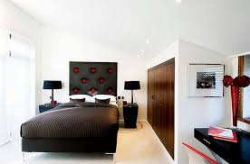 view in gallery exciting contemporary bedroom in red black and white bedroombreathtaking stunning red black white