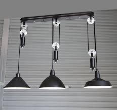 adjustable diy silver pulley pendant lamp dining room bar retro pendant lights club salon vintage industrial antique industrial pendant lights white