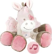 <b>Игрушка мягкая Nattou Musical</b> Soft toy MINI Nina, Jade & Lili ...
