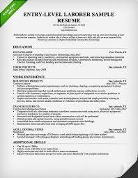 entry level construction worker   free downloadable resume    entry level construction worker