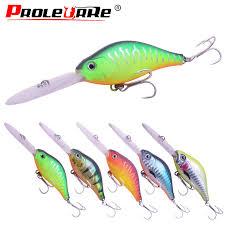 Proleurre 10.5<b>cm</b>/<b>15g</b> Minnow <b>Fishing</b> Lure <b>Long</b> tongue Deep ...