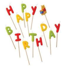 "<b>Свечи</b>-<b>буквы</b> ""Винни Happy Birthday"", <b>Procos</b> | Свеча, Праздник ..."