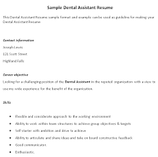 sample resume for dental assistant   experience        sample resume for dental assistant   experience dental assistant resume examples no experience ntiqip b