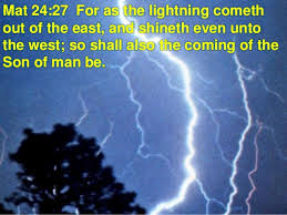 Image result for the coming of the lord
