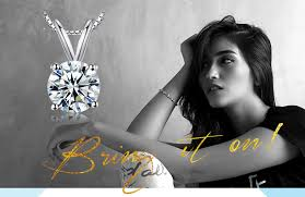 <b>JewelryPalace Classic Round 1ct</b> Cubic Zirconia Pendants ...