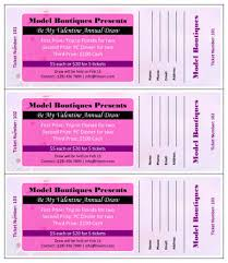 raffle ticket templates in microsoft word  mail merge be my valentine annual draw